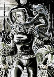 Tina Corbett - Space Cadet 2 by Szigeti