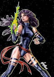 X-Men's Psylocke by Szigeti