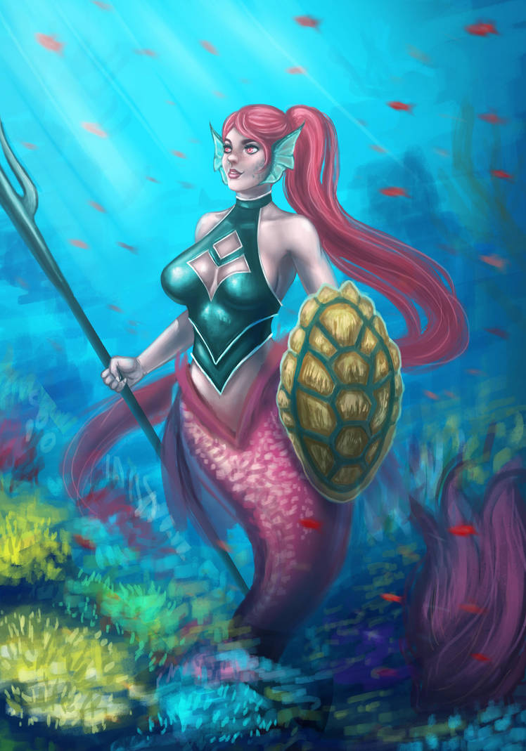 Mermay by Hector-Monegro