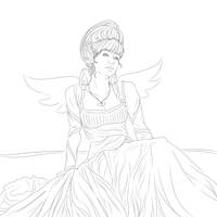 Elf Queen by Miserie