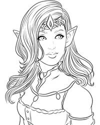 LINES: The Elven Queen by Miserie