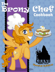 The Brony Chef Cookbook - Cover Design by Miserie