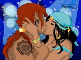 Andrius and Rozali by xxxalty