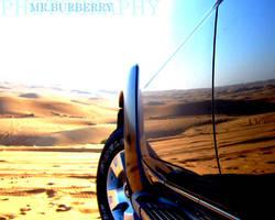 'All sunshine makes a desert' by MRBURBERRY