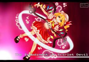 Flandre Scarlet Fanart by althashheth