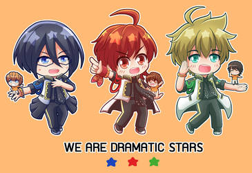WE ARE DRAMATIC STARS by mumuryu