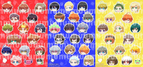 Sticker THE iDOLM@STER SideM by mumuryu