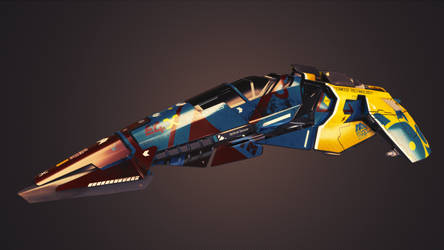 EG.X Wipeout HD Fury Ship by Altitude6