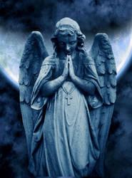 Angel stock by AshenSorrow