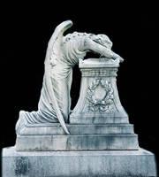 Sad Angel stock 2 by AshenSorrow