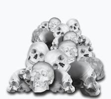 Pile Of Skulls by AshenSorrow