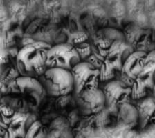 Skull texture by AshenSorrow