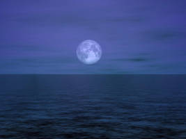 Under A Full Moon 2 by AshenSorrow
