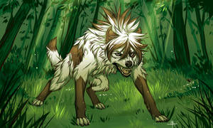 Beast from the Green Forest by MayhWolf