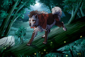Night Wanderer by MayhWolf