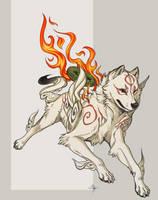 Okami Amaterasu by MayhWolf