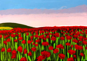 Poppy field by Cpr-Covet