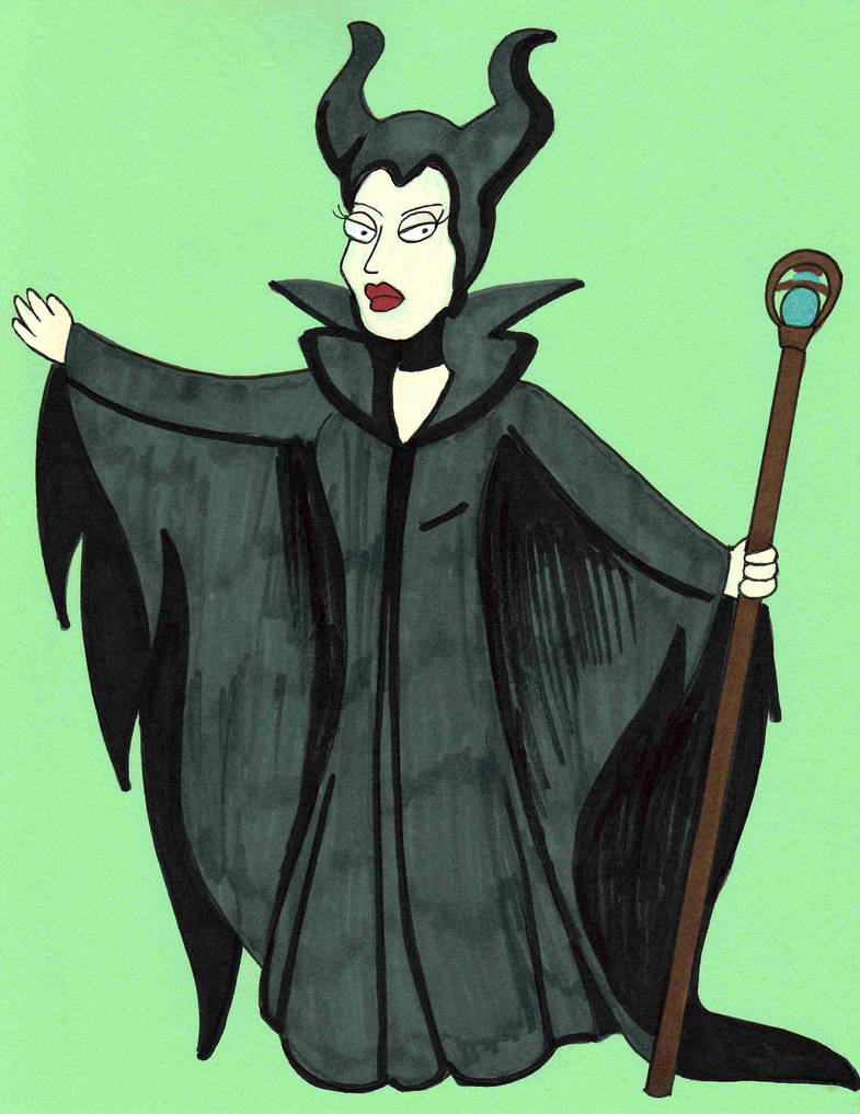 Fairyuary - Maleficent by Cpr-Covet