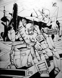 Defenders by rockdog80