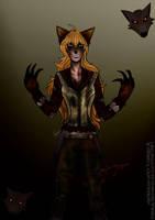 Halloween Yang Xiao Long - Werewolf by MarieyeohKH24