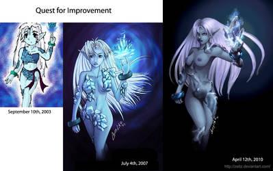 Ice Element - Through Time by Zeitz