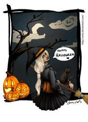Belated Happy Halloween by Zeitz
