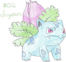 002 Ivysaur by ZoruAbsol