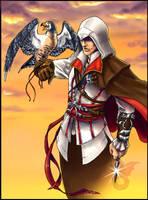 Ezio by fuzzypinkmonster