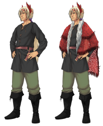 Alfard Pirate Outfit by konrei-sama