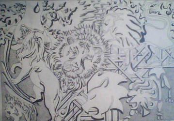 Horoscope lion by ElizabethEs
