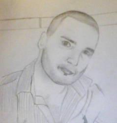 Portrait Drawing by ElizabethEs