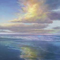 Nubes sobre el mar by CR0M3R0