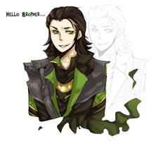Loki by shidrome