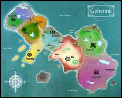 Map of Gehenna by shidrome