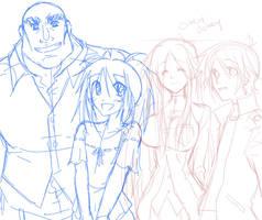 Ego Trigger Cast by Matsu-sensei