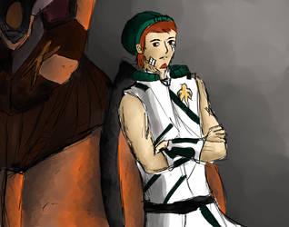 Captain Kosmo by Sine-Cura