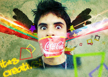 The coke power by AndreyverLima