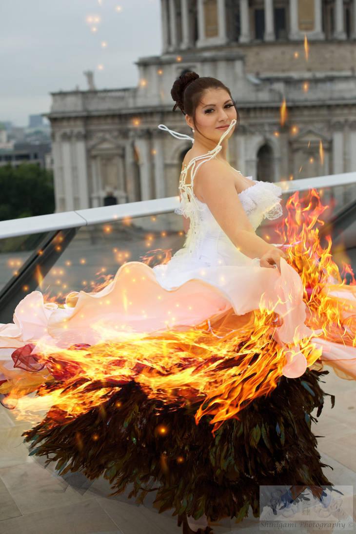Katniss Wedding Dress By Luluscosplay On Deviantart