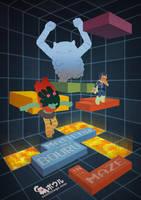 Matilda and Bouru - 3D Maze by samgarciabd