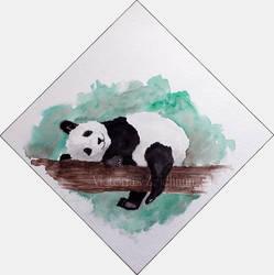 Panda by LittleMissRaven