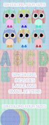 Printable Owl Cutouts by KAR10SA