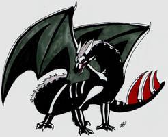 Hidan Dragon by Kyuubi0017