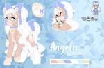Angela [ Pastel Girl Challenge ] by SilverKatu