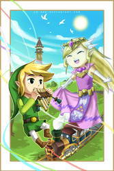 LoZ: Spirit Tracks by Lo-wah