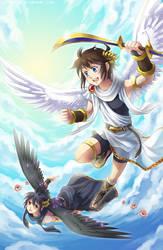 Kid Icarus Uprising by Lo-wah