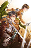 Lance Corporall and Cadet by Lo-wah