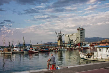 The fisherman by Glart
