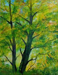 Fall in the air by vandersonart