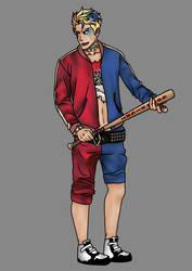 Suicide Squad -Genderbend Harley Quinn by flynat