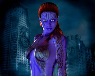 Mystique 3d by jhv27